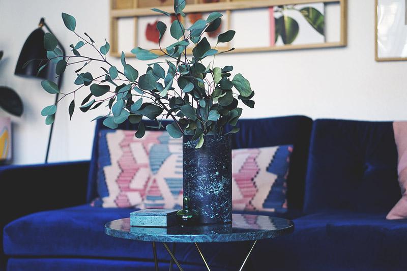 Interiør: Vores sofabord fra <strong>Ox Denmarq</strong> i messing og marmor 5