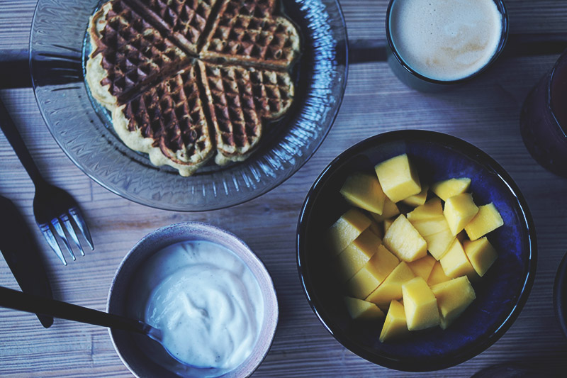 Opskrift: Sunde og lækre <strong>bananvafler</strong> 3