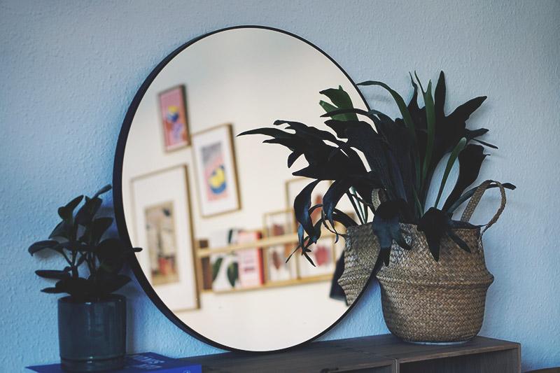 Interiør: <strong>Runde spejle</strong> til stuen, entréen eller badeværelset 3