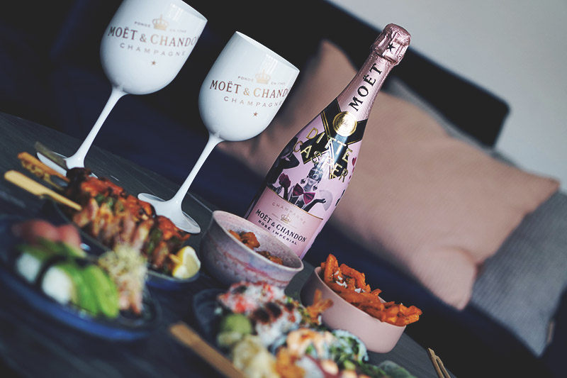 Valentins <strong>date</strong> med Moët og sushi 11