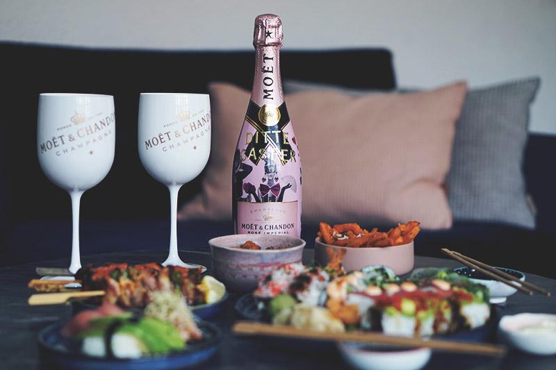 Valentins <strong>date</strong> med Moët og sushi 15