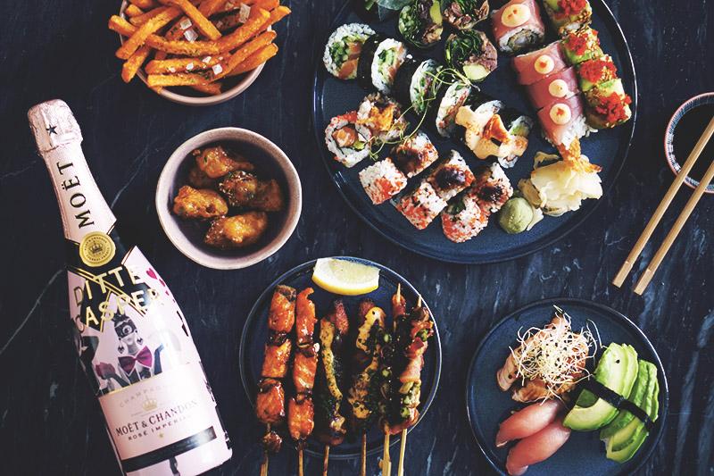 Valentins <strong>date</strong> med Moët og sushi 9