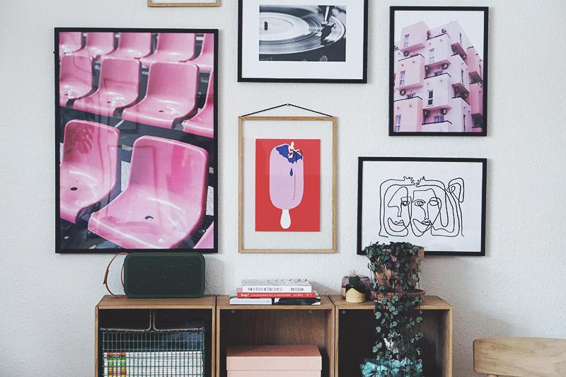 Interiør: Ny <strong>billedvæg</strong> i stuen 9