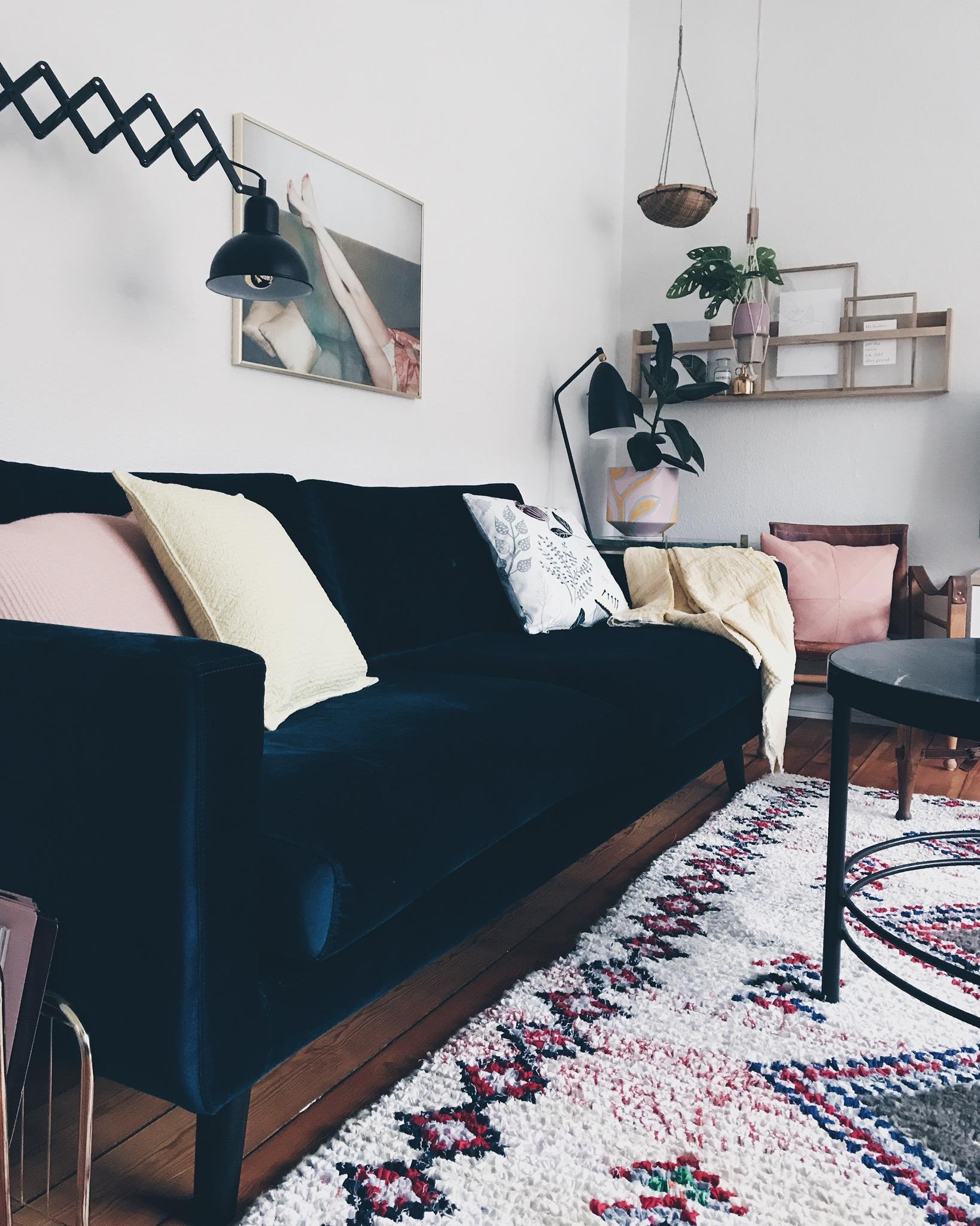 Interiør: Vores <strong>marrokanske vintage</strong> tæppe 3