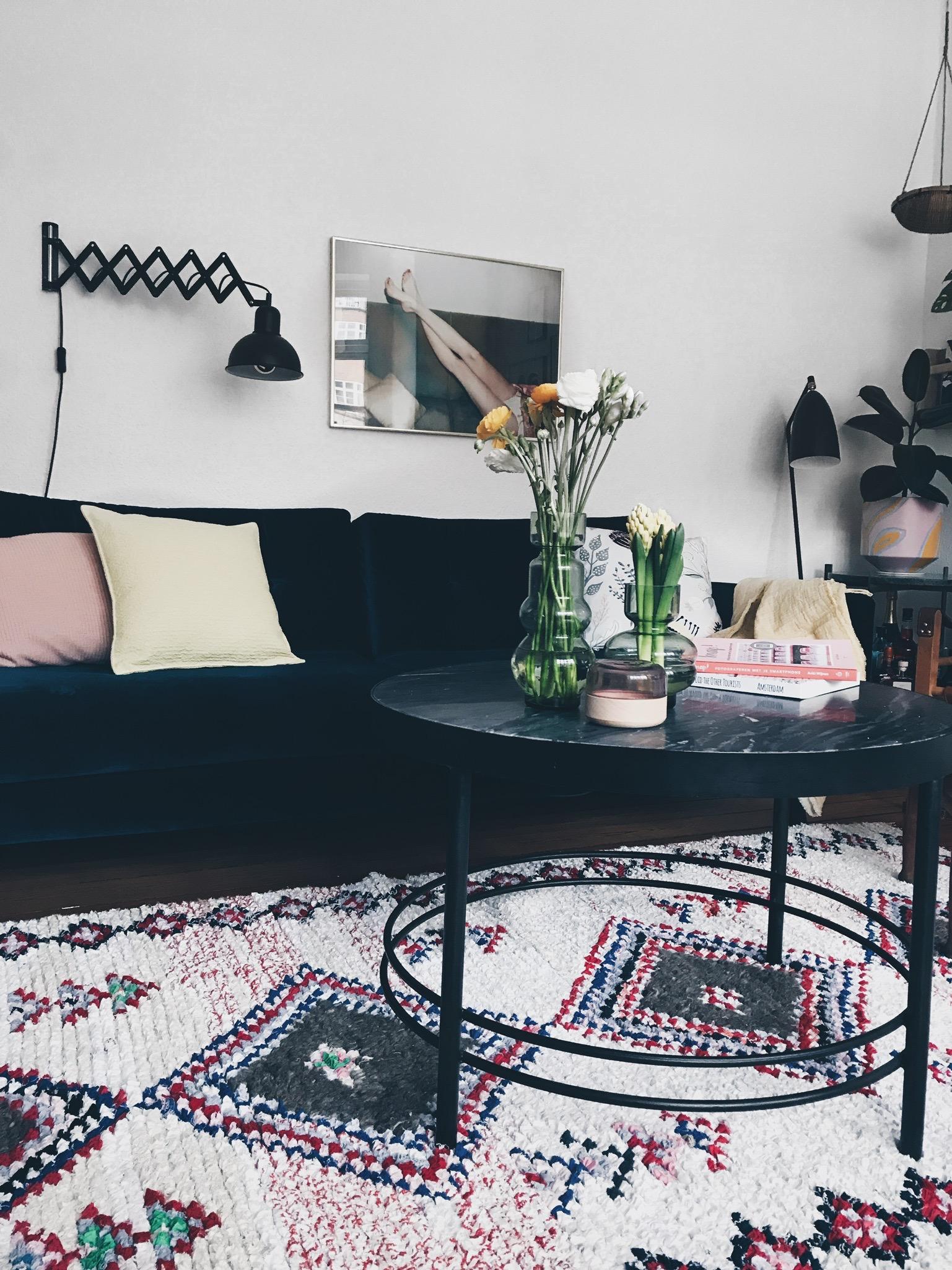 Interiør: Vores <strong>marrokanske vintage</strong> tæppe 1