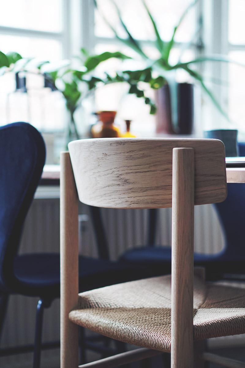 Spisebordsstole: <strong>Børge Mogensen J39</strong> Folkestolen 11