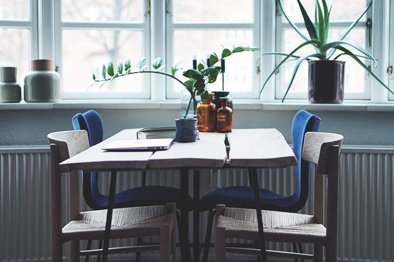 Spisebordsstole: <strong>Børge Mogensen J39</strong> Folkestolen 7