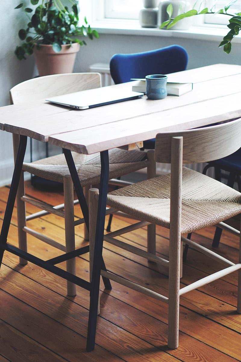 Spisebordsstole: <strong>Børge Mogensen J39</strong> Folkestolen 5