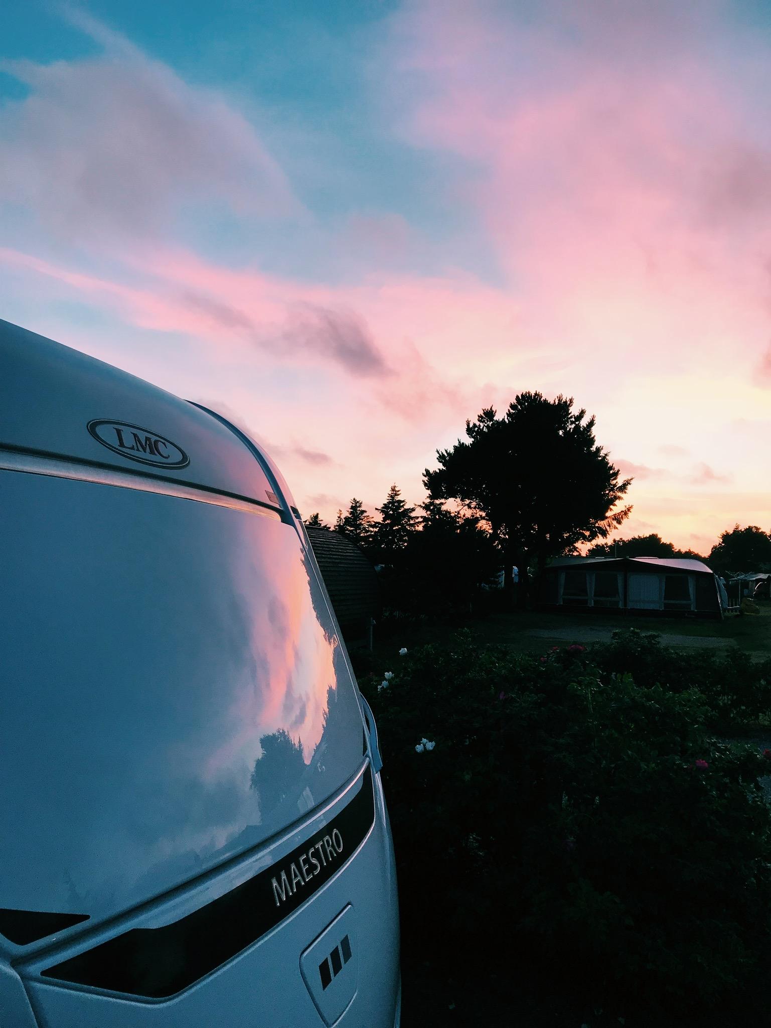Vores uge i en <strong>LMC campingvogn</strong> på Henne Strand Camping 33