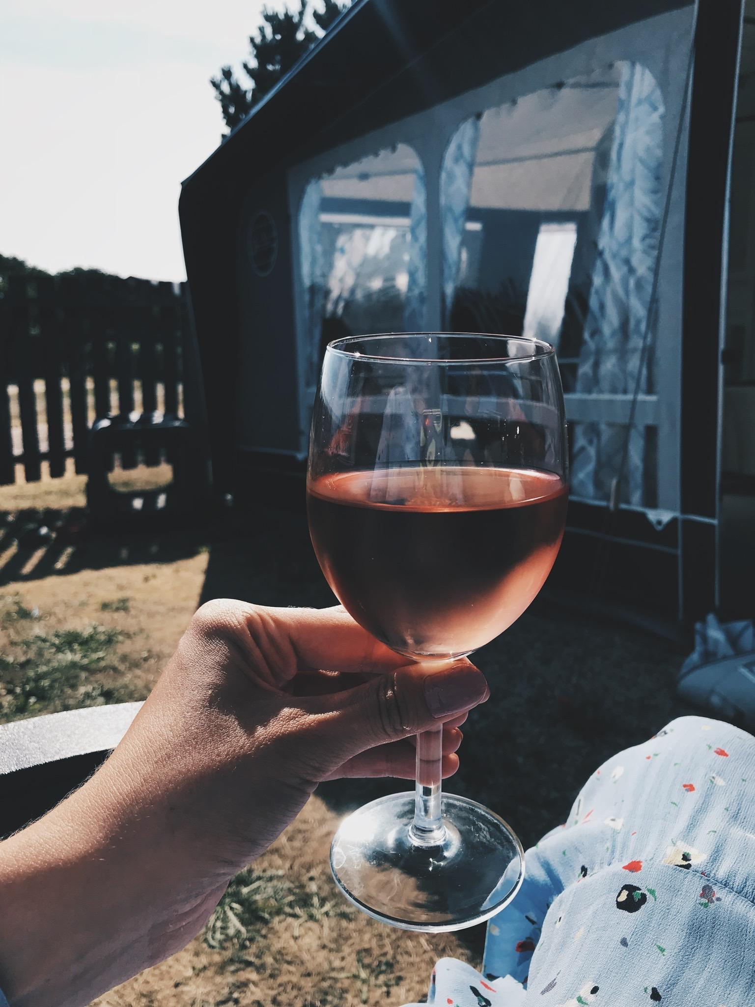 Vores uge i en <strong>LMC campingvogn</strong> på Henne Strand Camping 19