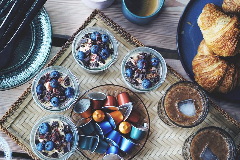 Nespresso Breakfast Club: <strong>Morgenmads opskrifter</strong> med kaffe 7
