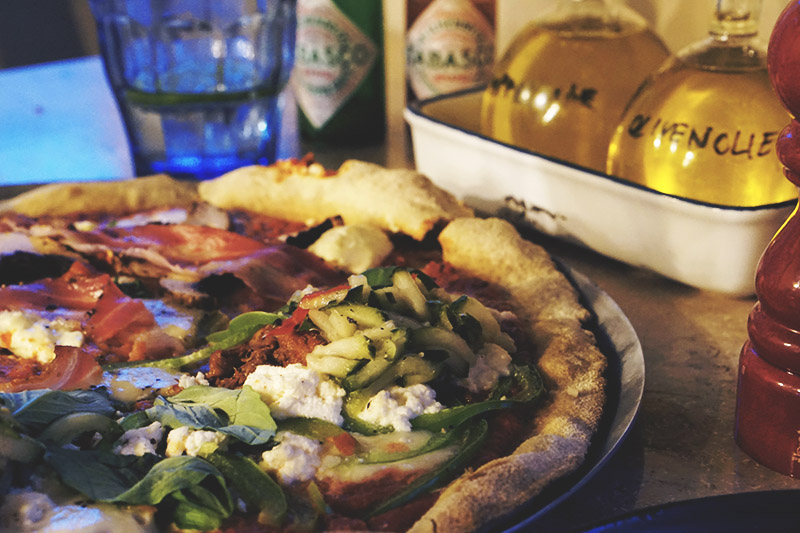 8 retters <strong>Tasting Menu</strong> hos Gorm's Pizza 15