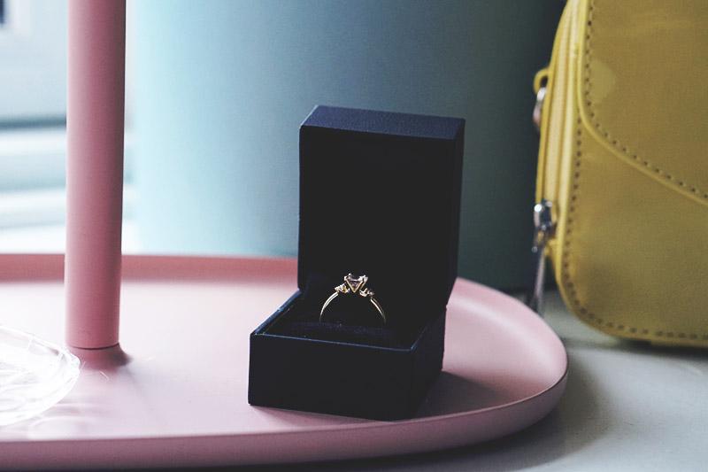 Om vores <strong>forlovelse</strong> og tanker om bryllupsplaner 9