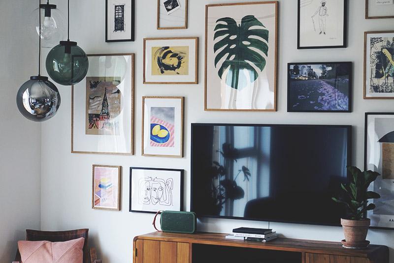 Stue: Sådan får du <strong>tv'et</strong> til at blive en del af indretningen 7
