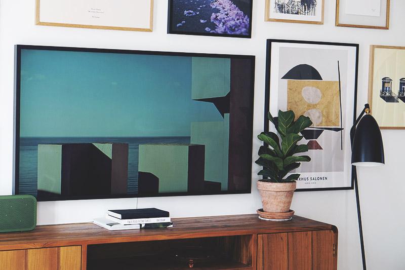 Stue: Sådan får du <strong>tv'et</strong> til at blive en del af indretningen 15
