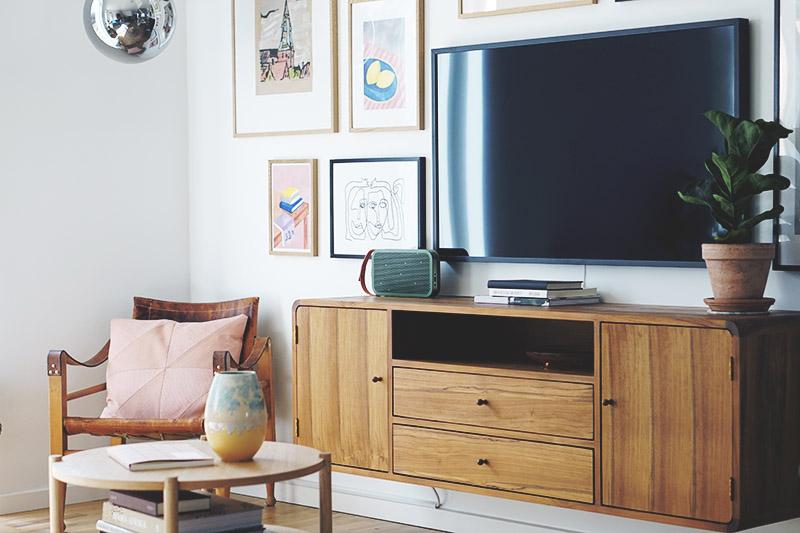 Stue: Sådan får du <strong>tv'et</strong> til at blive en del af indretningen 3