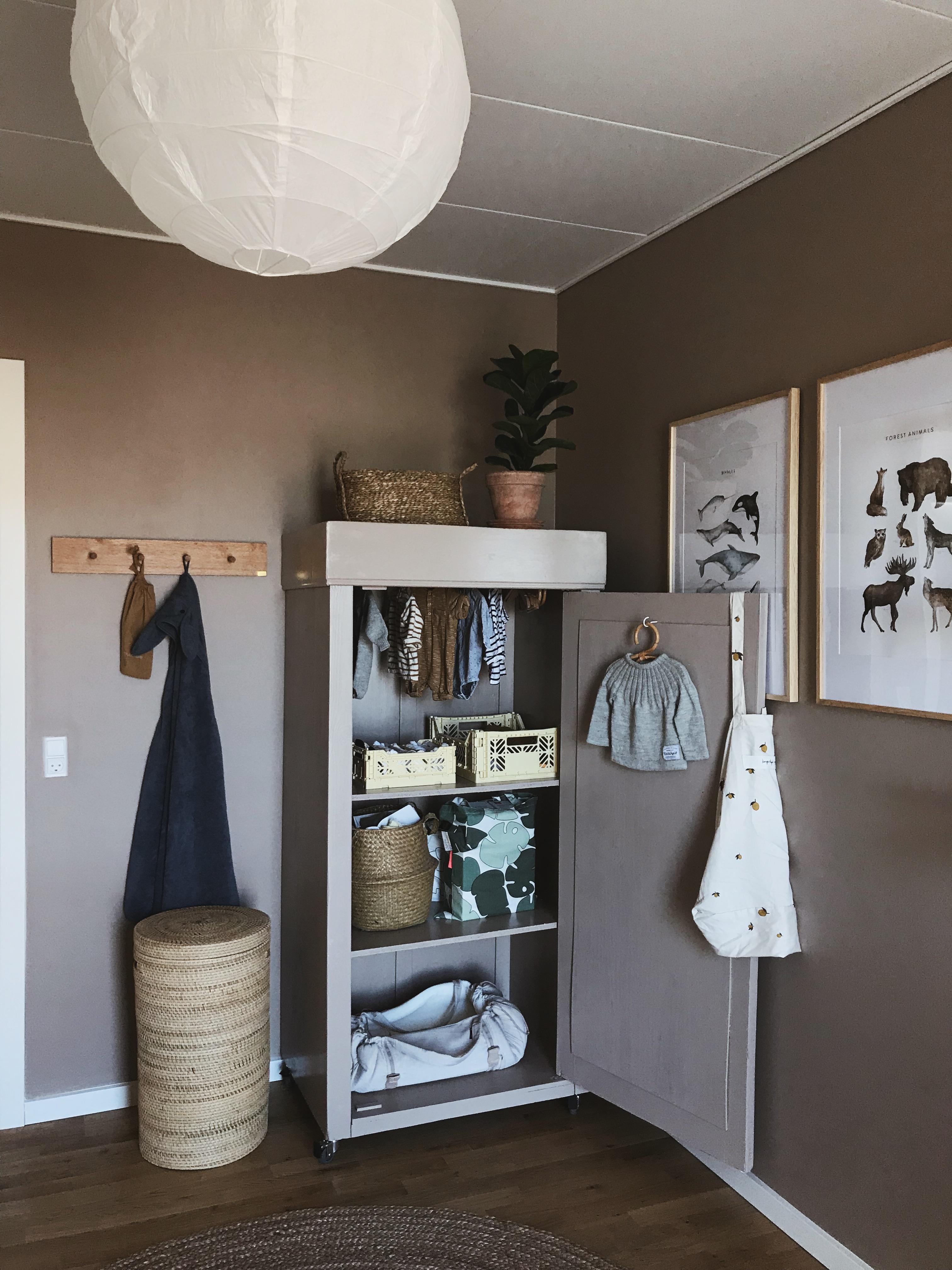 Garderobe børneværelse
