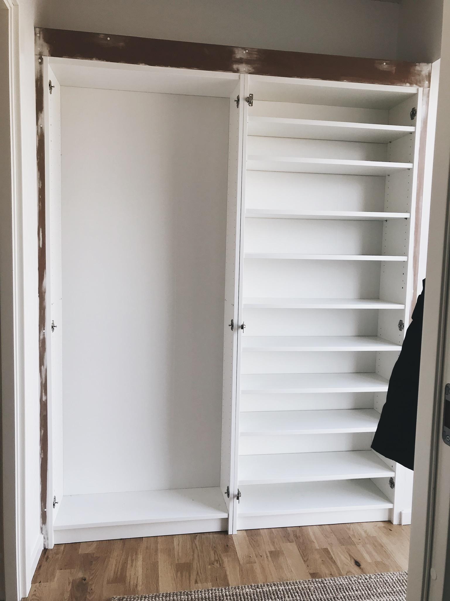 IKEA HACK: <strong>DIY guide</strong> til indbyggede garderobeskabe med PAX og Billy 33