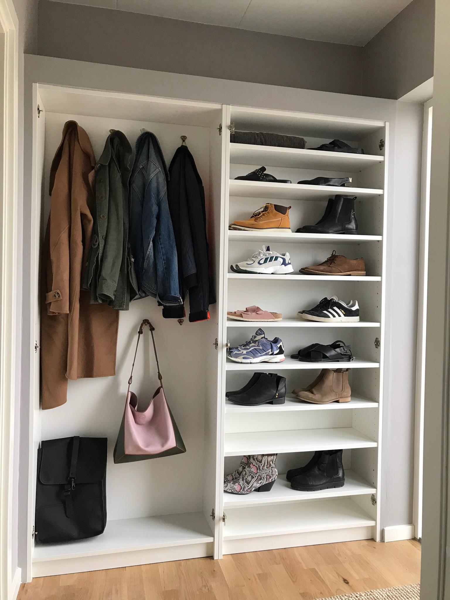 IKEA HACK: <strong>DIY guide</strong> til indbyggede garderobeskabe med PAX og Billy 35