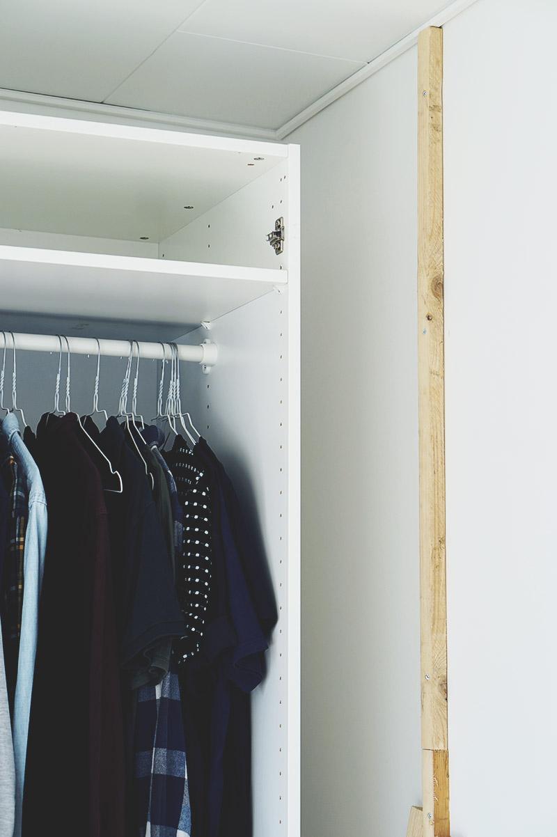 IKEA HACK: <strong>DIY guide</strong> til indbyggede garderobeskabe med PAX og Billy 7