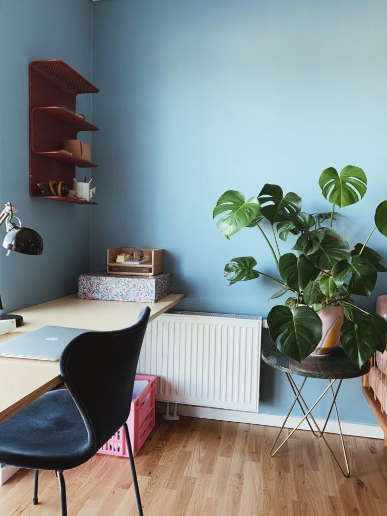 Indretning af <strong>kontor & gæsteværelse</strong> i nybyg - Nu med farve på væggen 9