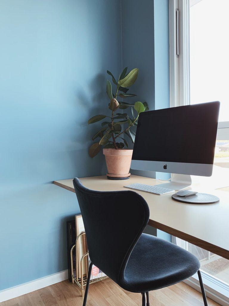 Indretning af <strong>kontor & gæsteværelse</strong> i nybyg - Nu med farve på væggen 19