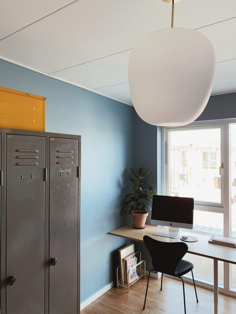 Indretning af <strong>kontor & gæsteværelse</strong> i nybyg - Nu med farve på væggen 17