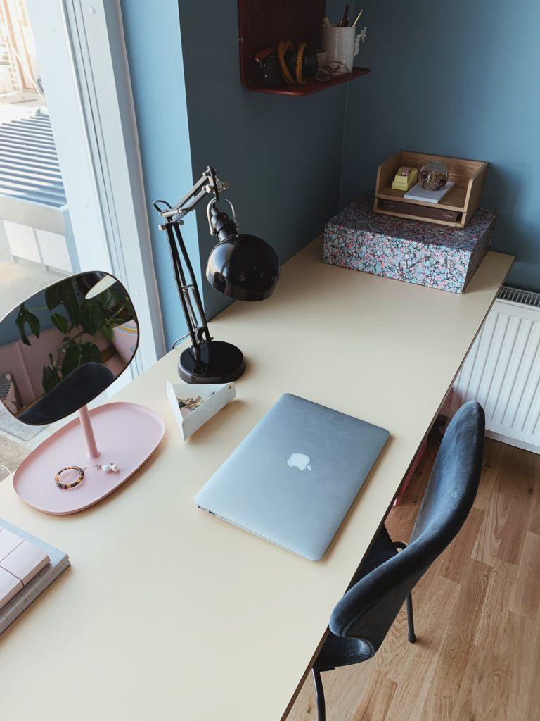 Indretning af <strong>kontor & gæsteværelse</strong> i nybyg - Nu med farve på væggen 11