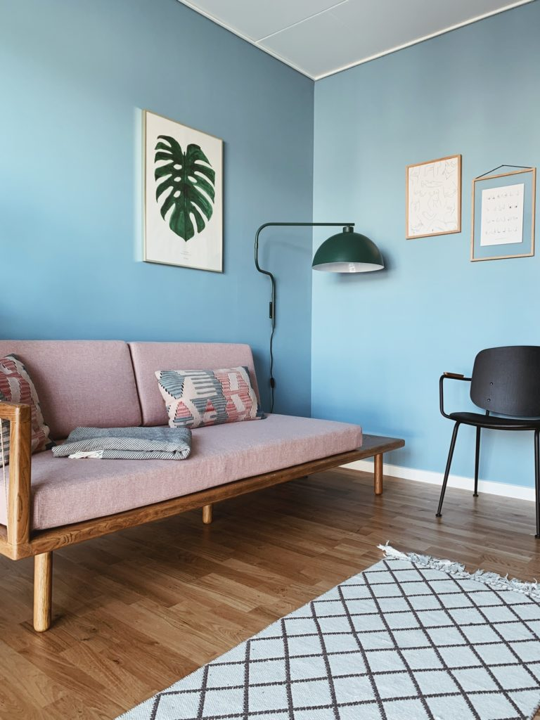 Indretning af <strong>kontor & gæsteværelse</strong> i nybyg - Nu med farve på væggen 23