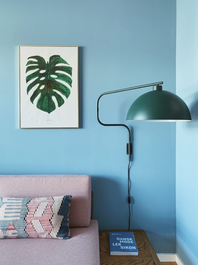Indretning af <strong>kontor & gæsteværelse</strong> i nybyg - Nu med farve på væggen 1