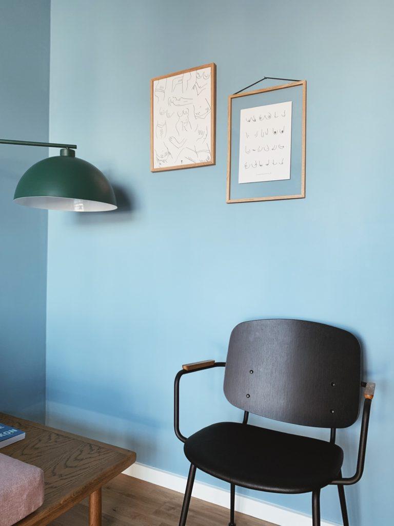 Indretning af <strong>kontor & gæsteværelse</strong> i nybyg - Nu med farve på væggen 27