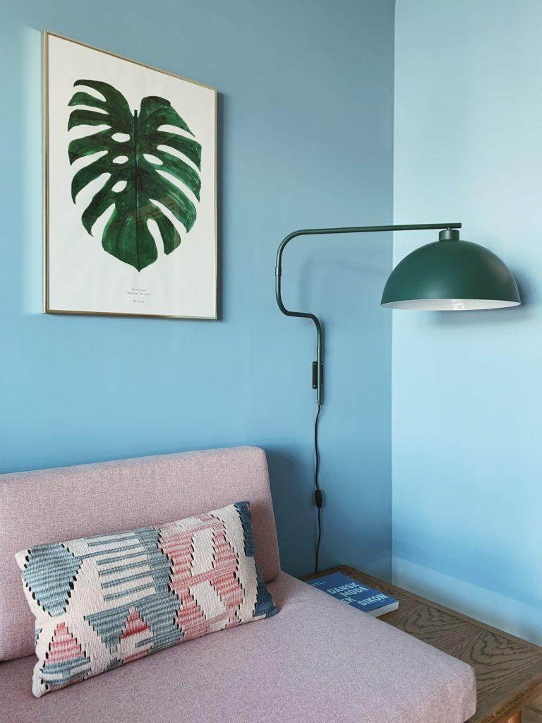 Indretning af <strong>kontor & gæsteværelse</strong> i nybyg - Nu med farve på væggen 25