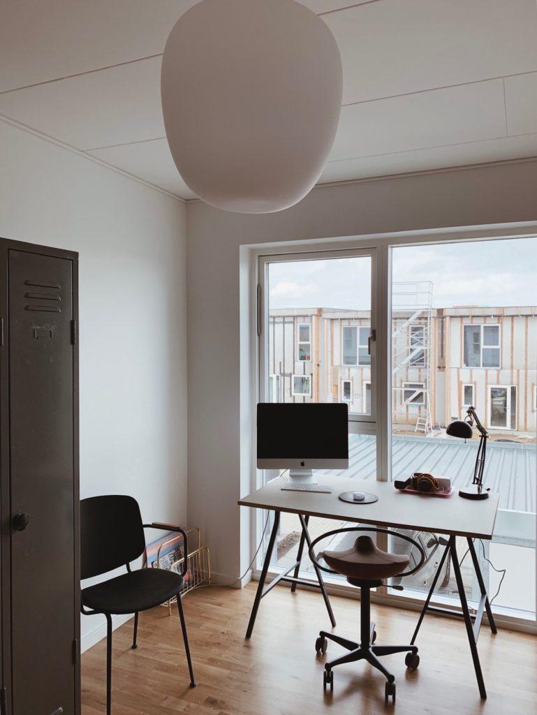 Indretning af <strong>kontor & gæsteværelse</strong> i nybyg - Nu med farve på væggen 5