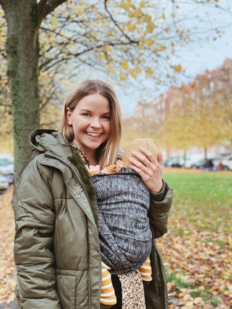 Babybæring: Interview med <strong>slyngevejleder</strong> Kamilla fra Minikram.dk 3
