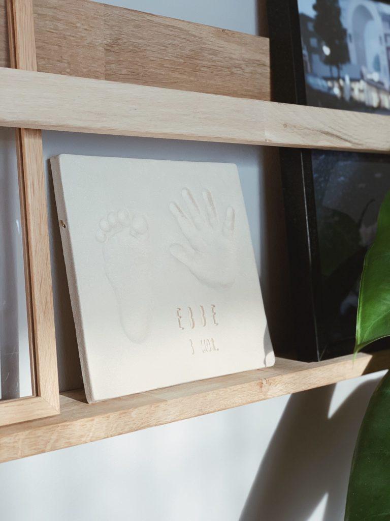 Ide til barsels- eller dåbsgave: <strong>Babyaftryk</strong> af fødder & hænder 15