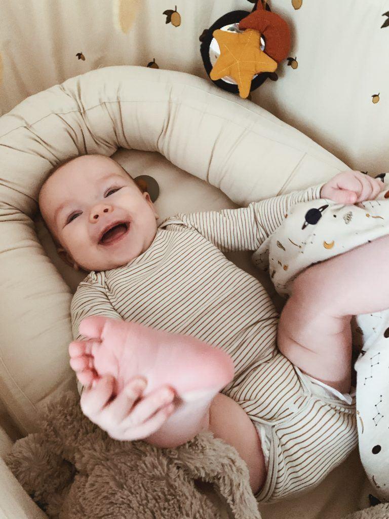 Søvnrutiner & <strong> søvnhjul </strong>: Baby 5 måneder 7