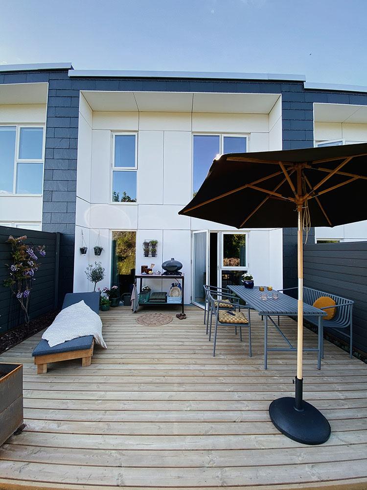Træ terrasse nybyg