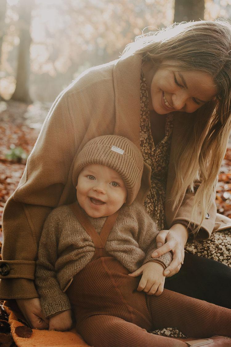 Familie fotografering i Aarhus: <strong>Efterårsbilleder</strong> til julegaver 9