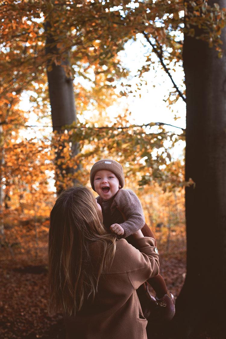 Familie fotografering i Aarhus: <strong>Efterårsbilleder</strong> til julegaver 7