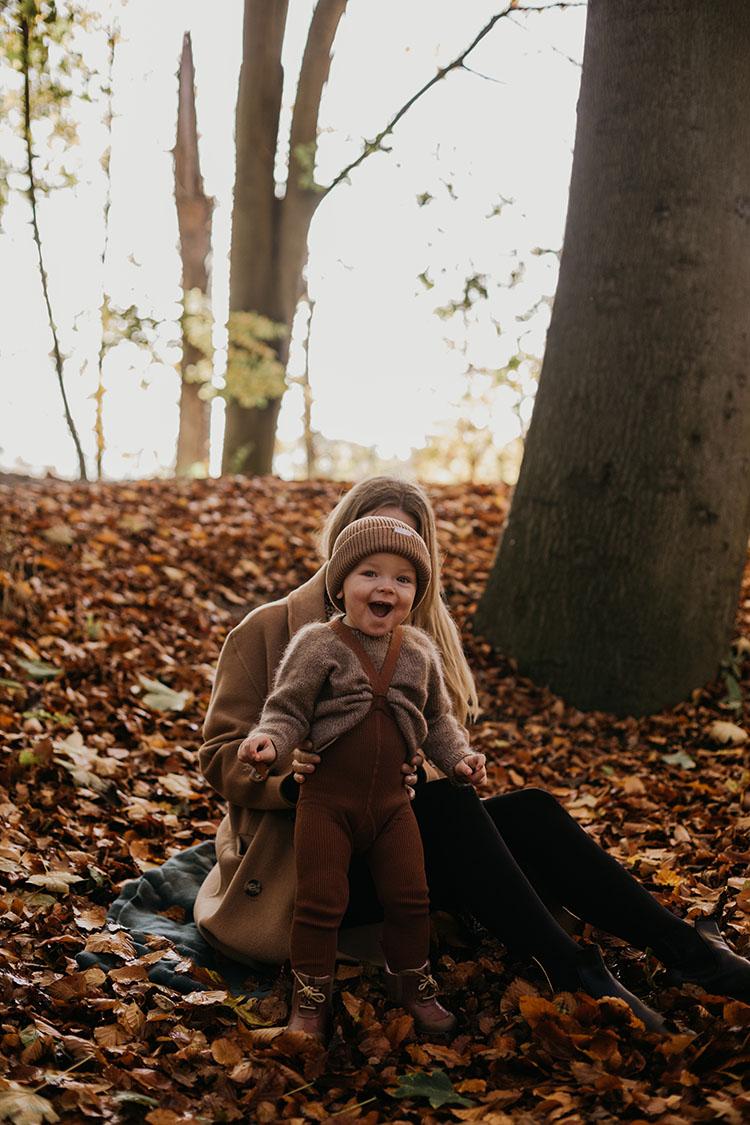 Familie fotografering i Aarhus: <strong>Efterårsbilleder</strong> til julegaver 11