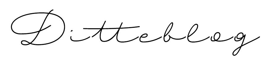 Ditteblog logo