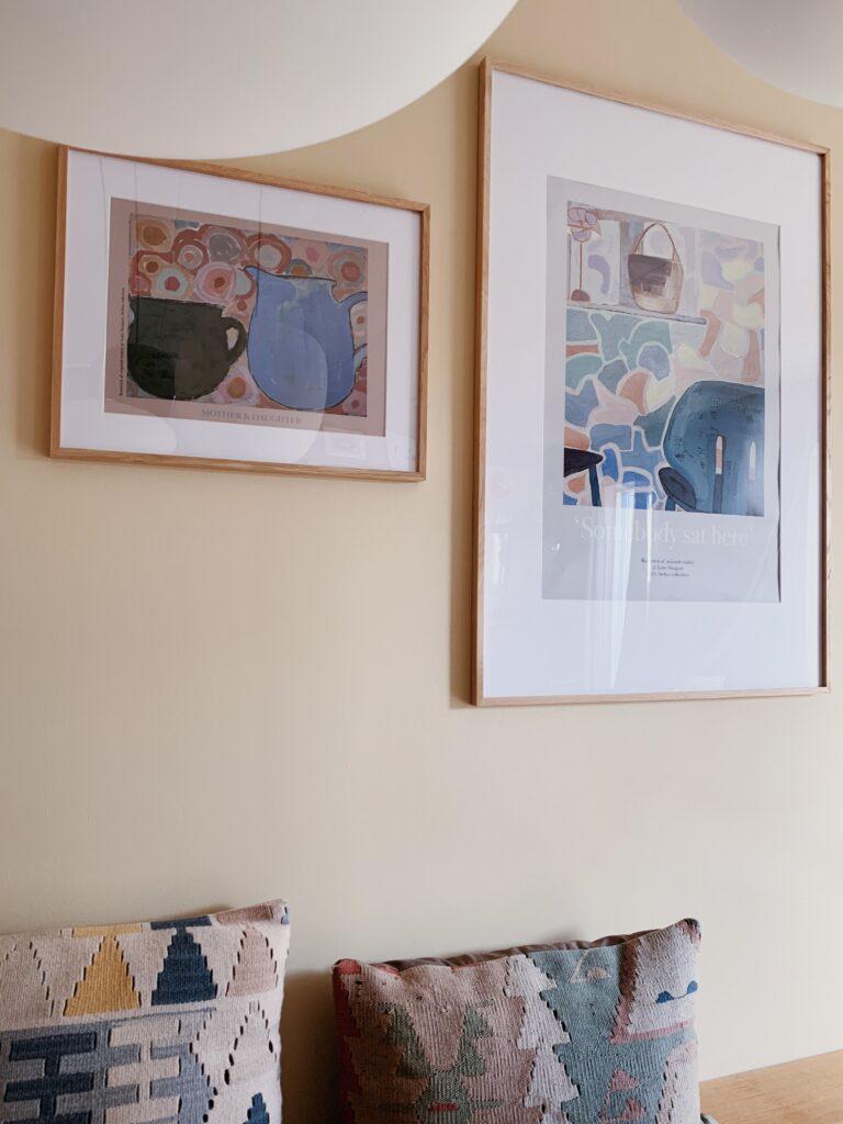 Vores <strong>billedvægge</strong> og en oversigt over hvor jeg finder kunst og plakater 7