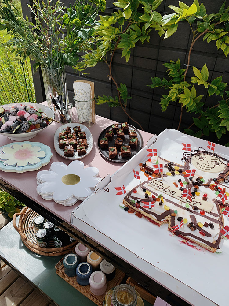 Ebbes <strong>fødselsdagsfest</strong> - Havefest, festpynt og catering 14
