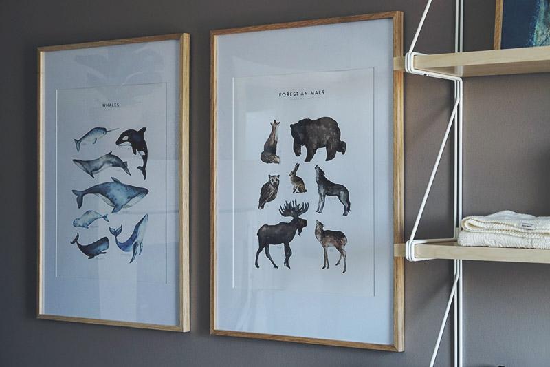 Interiør: Detaljer og <strong>plakater</strong> på børneværelset 3