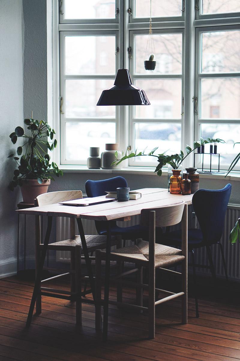 Spisebordsstole: <strong>Børge Mogensen J39</strong> Folkestolen 1